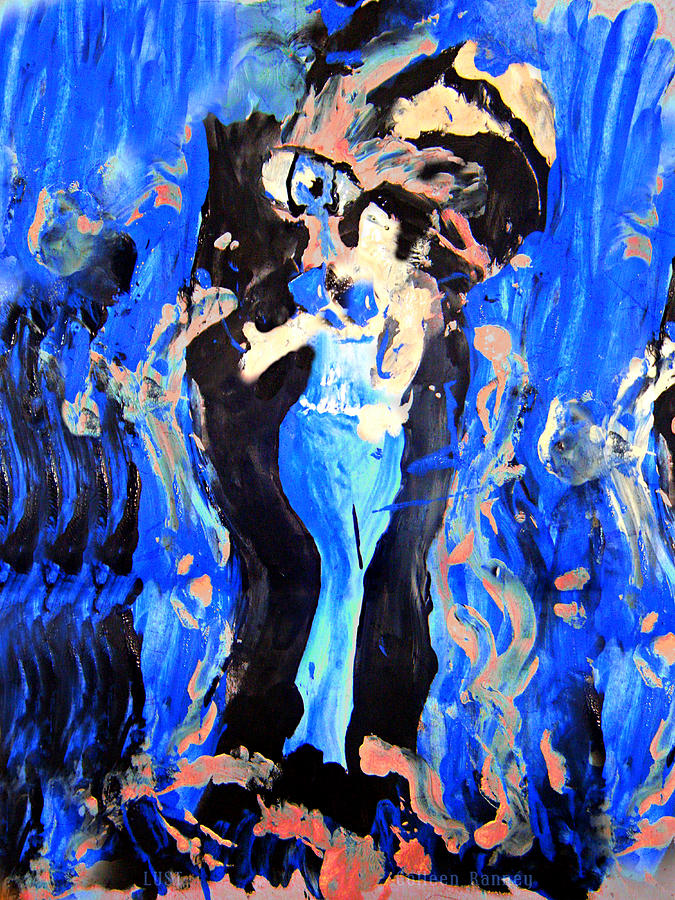 The Seven Sins Painting - The Seven Sins- Lust by Colleen Ranney