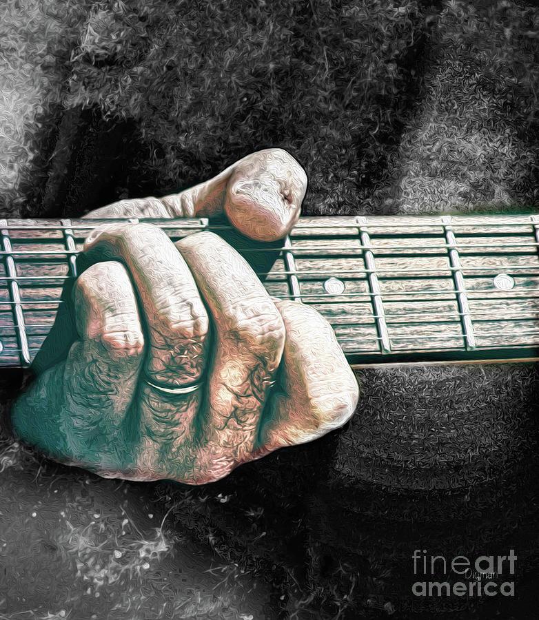 Guitar Photograph - The Seventh Chord  by Steven Digman
