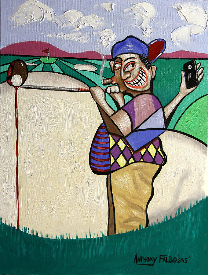 The Seventh Hole I Did It My Way Painting