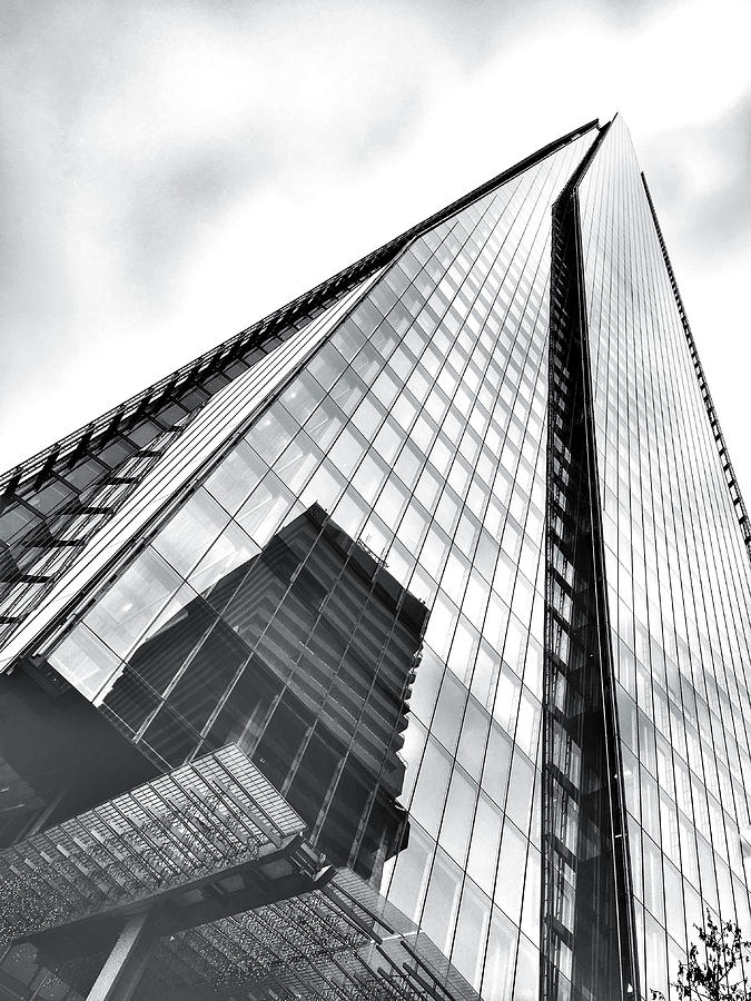 Angle Photograph - The Shard Building by Tom Gowanlock