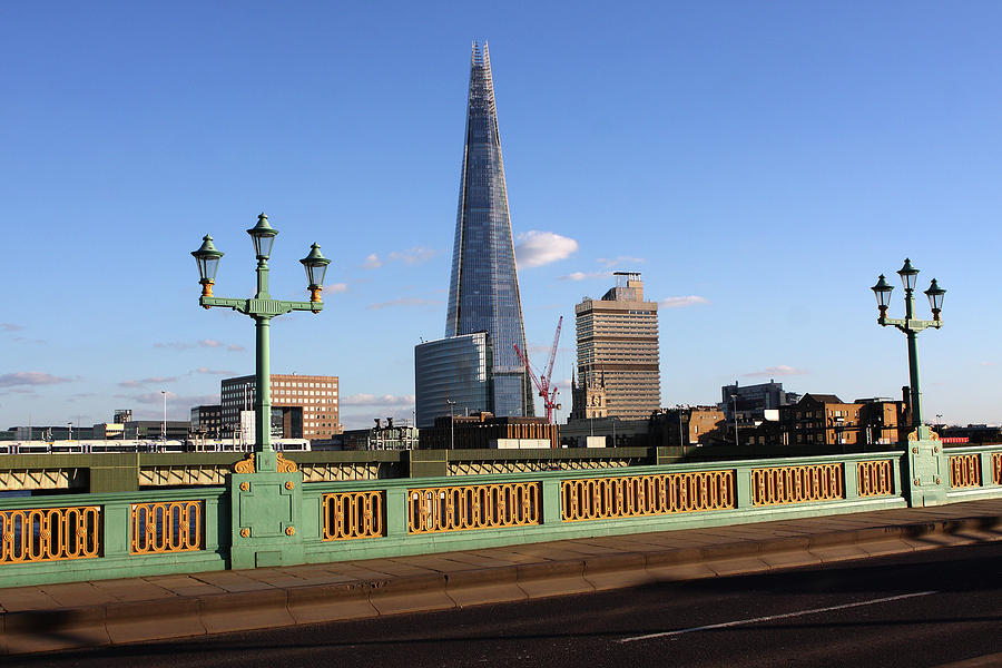 The Shard From Southwark Bridge Photograph