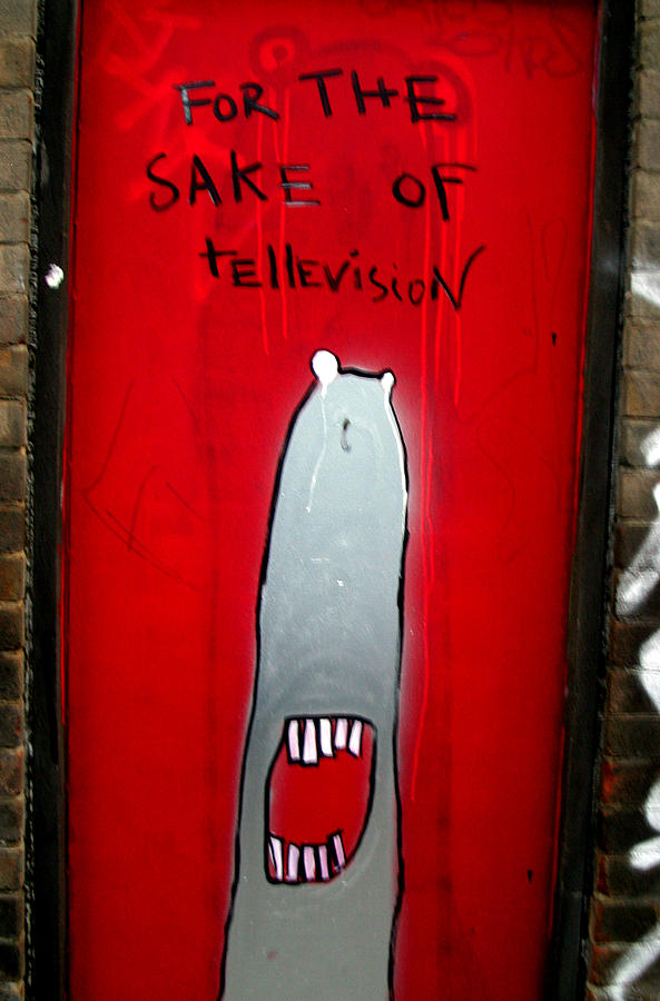 Photographer Photograph - The Sharker Side Of Tv by Jez C Self