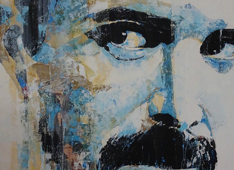 Freddie Mercury Painting - The Show Must Go On  by Paul Lovering