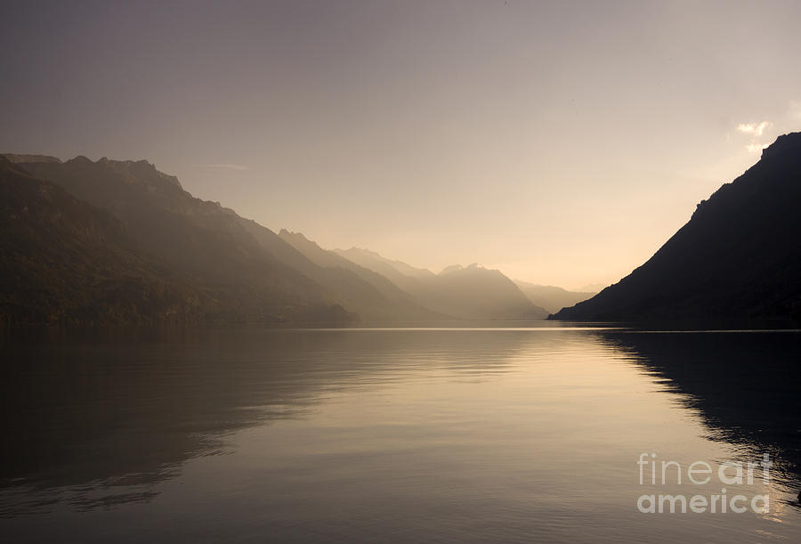 Alps Photograph - The Silence by Angel Ciesniarska