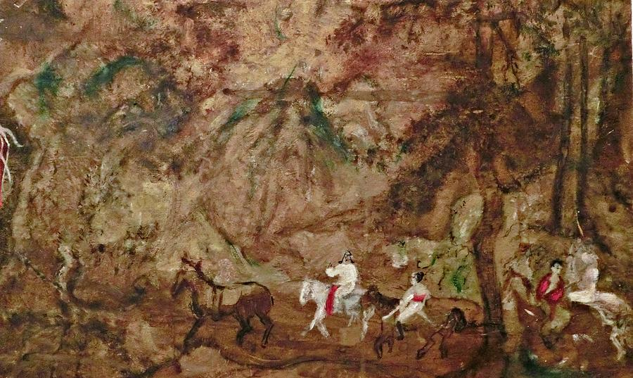 The Silk Road Painting by Michela Akers