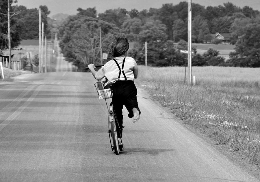 Bike Photograph - The Simple Life by Stephanie Calhoun