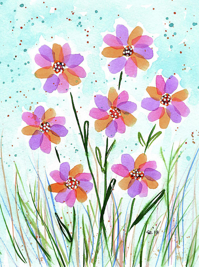 Watercolor Painting - The Simple Things In Life by Susan Campbell