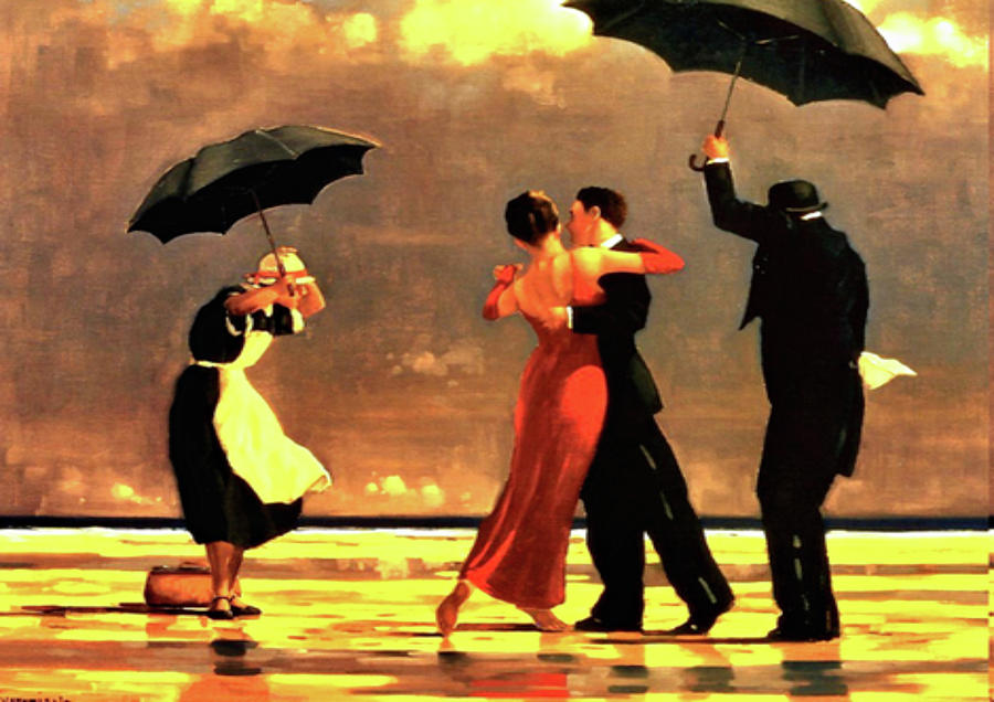 the singing butler painting by jack vettriano. Black Bedroom Furniture Sets. Home Design Ideas