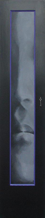 Meditative Painting - The Sixth Floor by Boris Koodrin