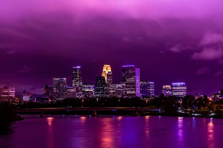 Prince Photograph - The Sky Was So Purple...  by Mark Goodman