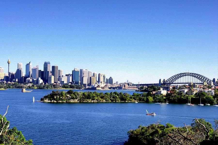 Australia Digital Art - The Skyline by Christopher Eng-Wong
