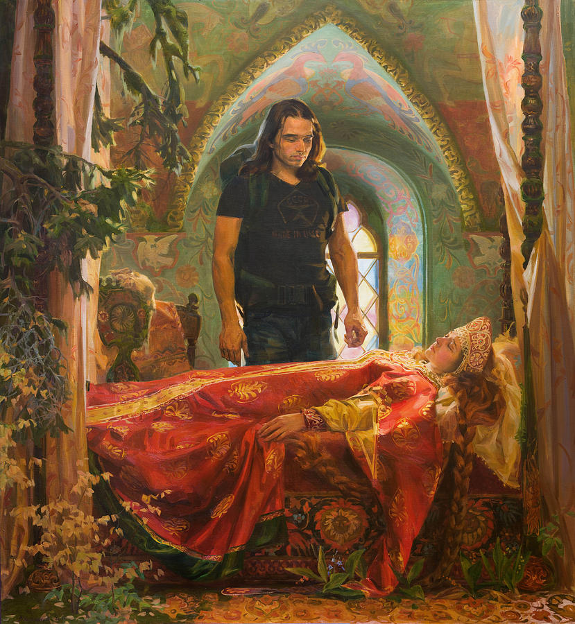 The Sleeping Beauty Painting