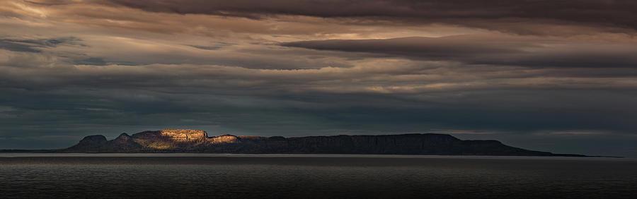 Awakening Photograph - The Sleeping Giant Sunspot Pano by Jakub Sisak