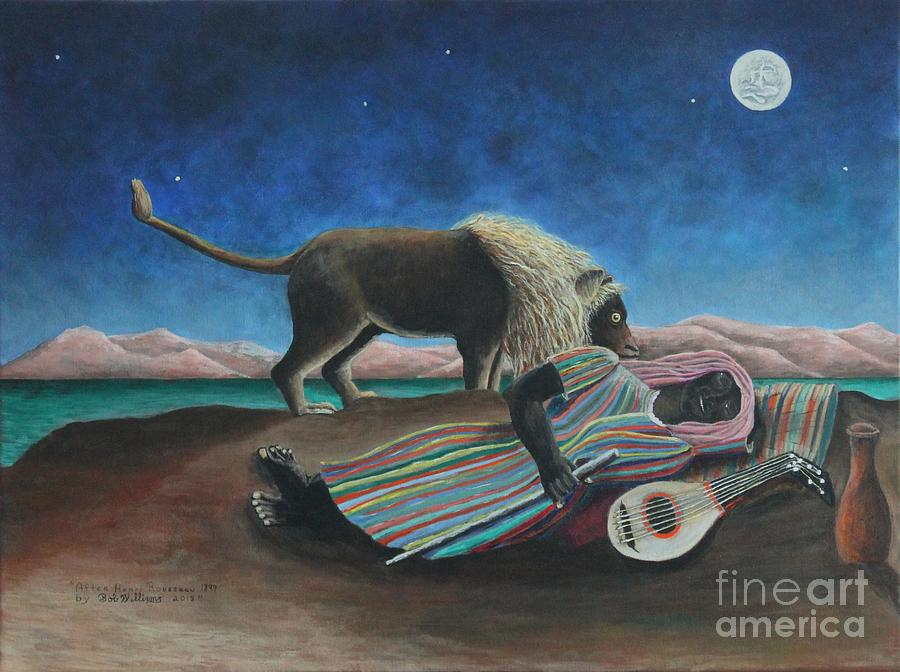 The Sleeping Gypsy  by Bob Williams