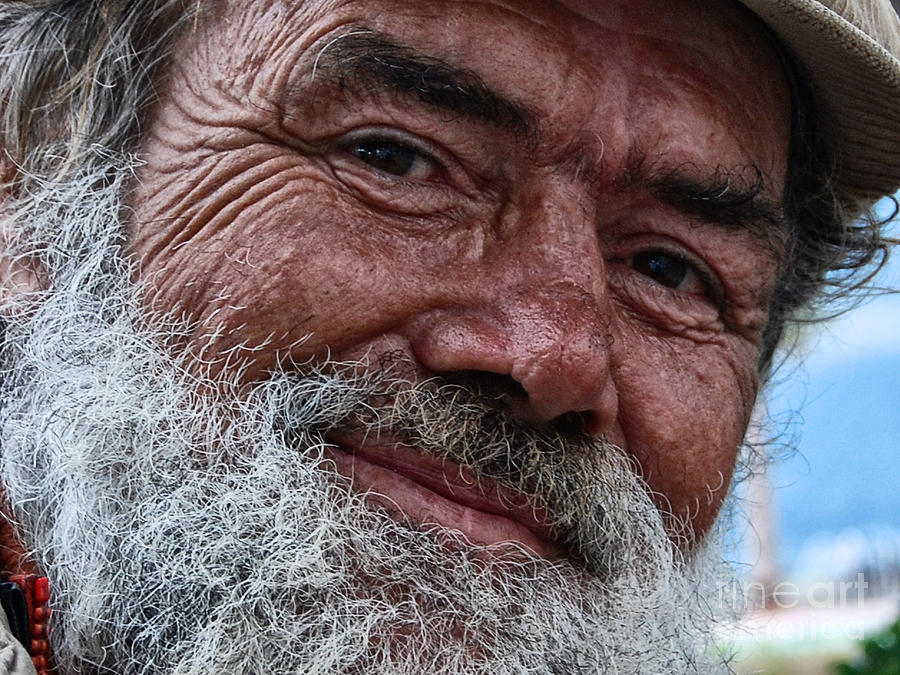 Homeless Photograph - The Smile Of Life by Erhan OZBIYIK