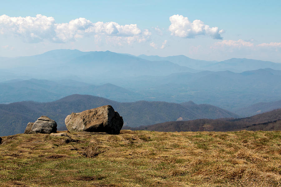 Appalachian Mountains Photograph - The Smokies From Roan Mountain I by Jeff Severson