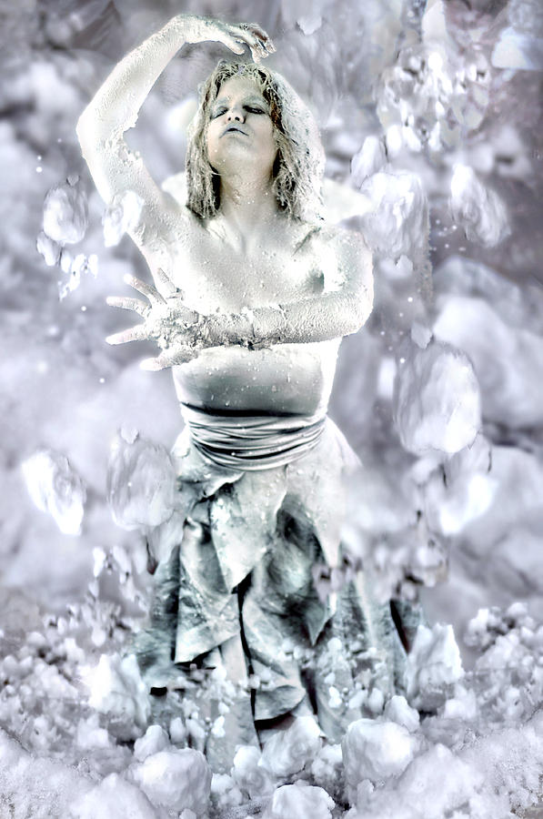 The Snow Queens Rising Photograph