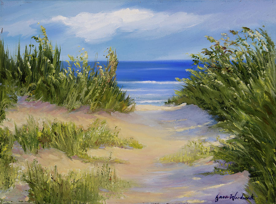 Beach Painting - The Soft Winds Of Summer by Jane Woodward