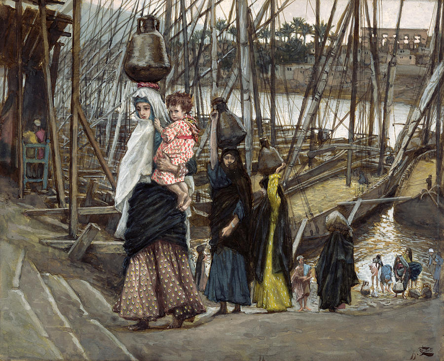 The Painting - The Sojourn by Tissot