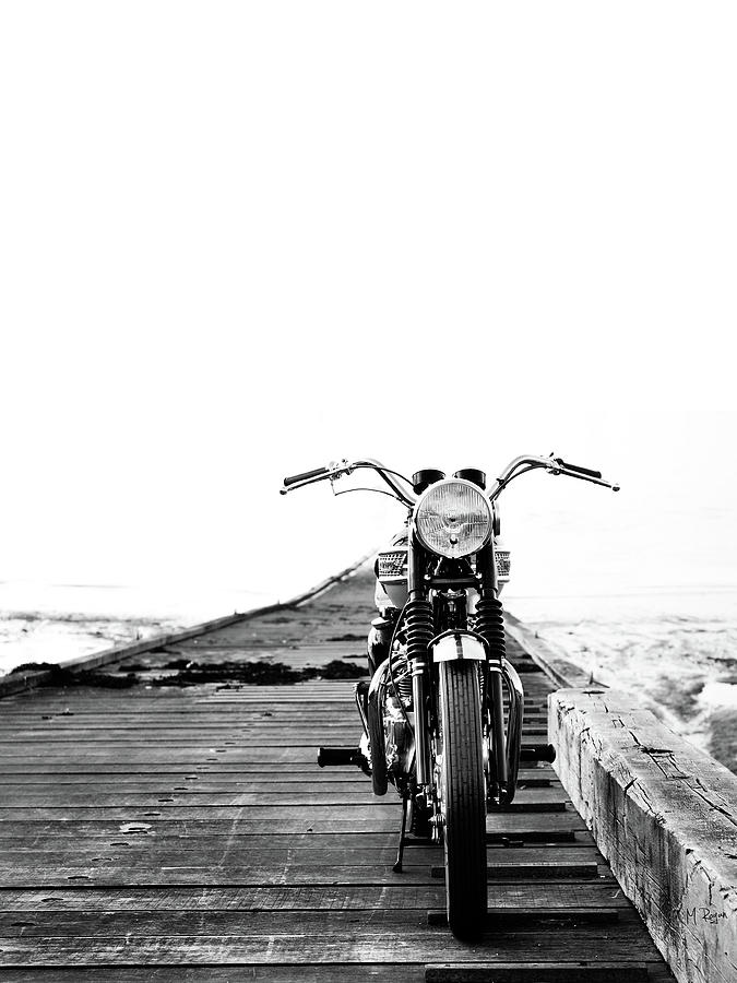 Motorcycle Photograph - The Solo Mount by Mark Rogan