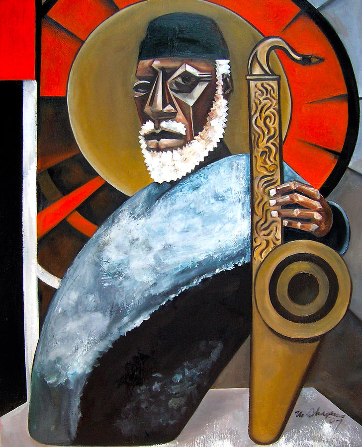 The Son Painting by Martel Chapman