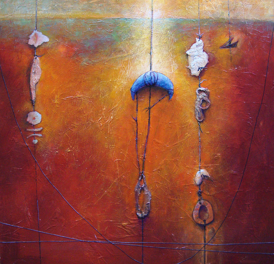 Abstract Painting - The Sorting by Dale  Witherow