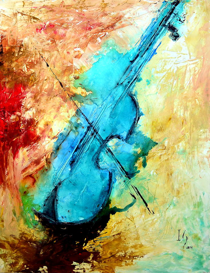 Music Mixed Media - The Sound  by Ivan Guaderrama