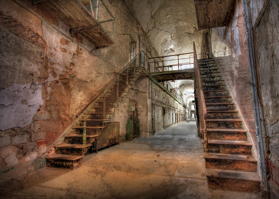 Eastern State Penitentiary Photograph - The Sound Of Silence by Lori Deiter
