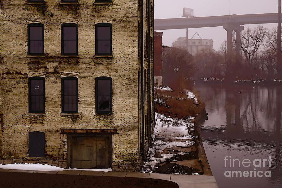 Milwaukee Digital Art - The South Bank by David Blank