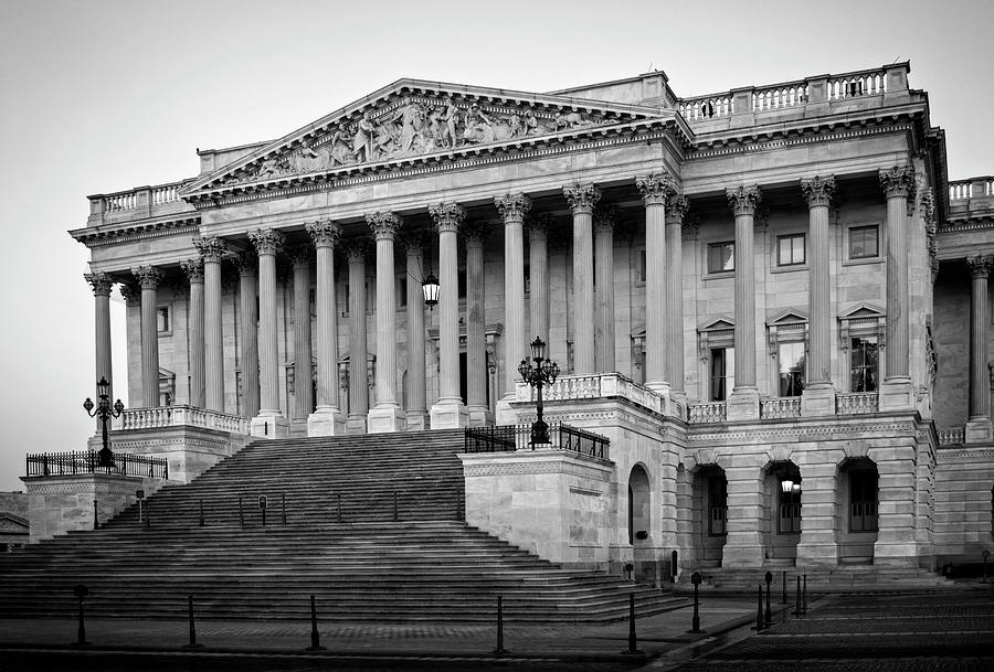 The South End In Black And White Photograph by Greg Mimbs