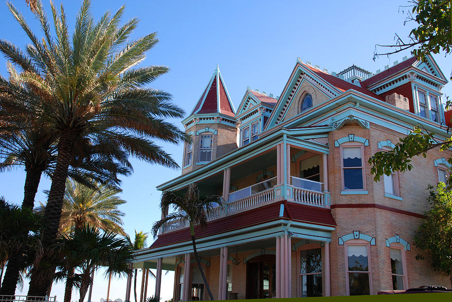Southernmost House Photograph - The Southernmost House In Key West by Susanne Van Hulst