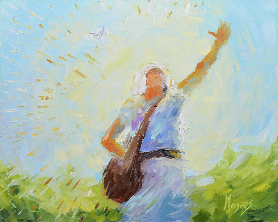 Christian Painting - The Sower by Mike Moyers