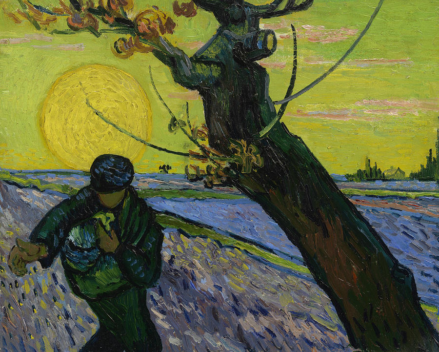 Van Gogh Painting - The Sower 10 by Vincent van Gogh