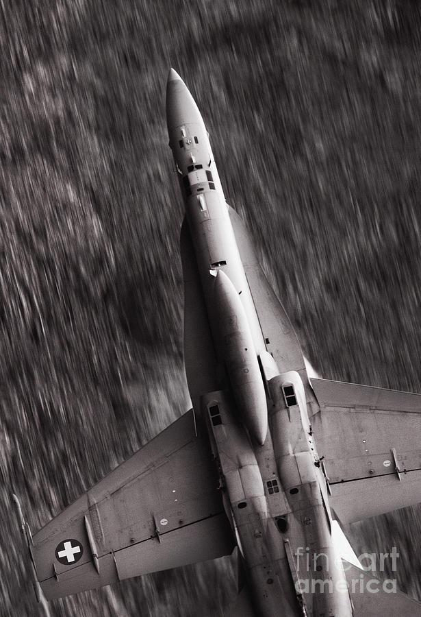 Axalp Photograph - The Speed Of Sound by Angel  Tarantella