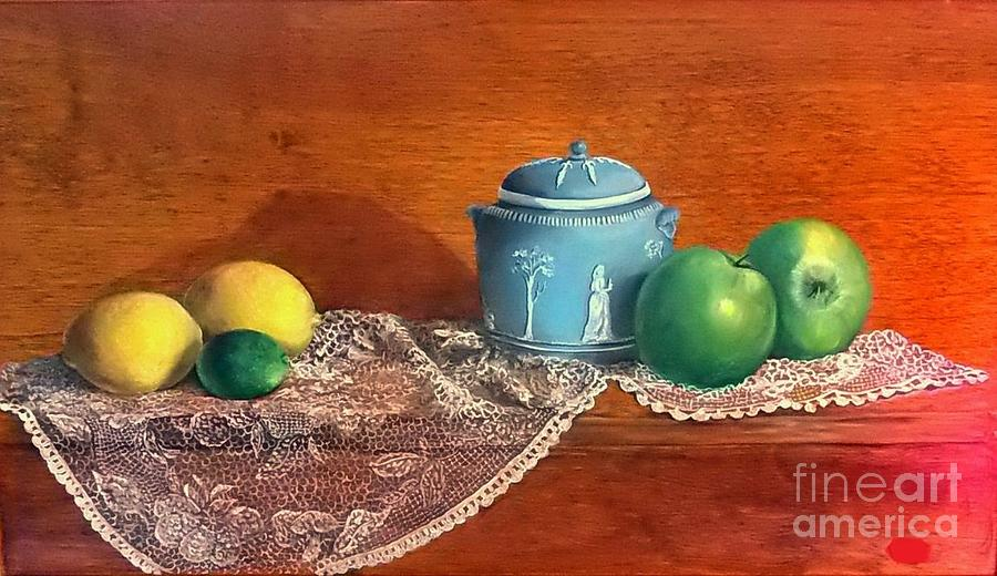 Still Life Painting - The Spice Jar by Patricia Lang