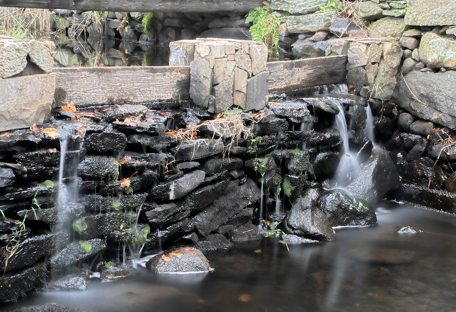 Stream Photograph - The Spillway by Mark Wiley