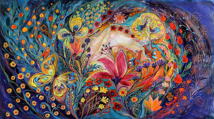 Judaica Store Painting - The Spiral Of Life by Elena Kotliarker