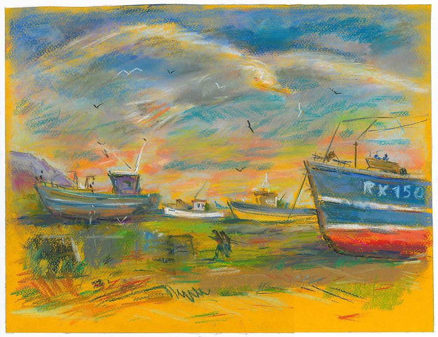 Pastel Pastel - The Spirit Of Hastings by Sveatoslav Zacon