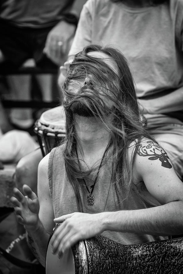 Man Photograph - The Spirit Of The Rhythm by John Haldane