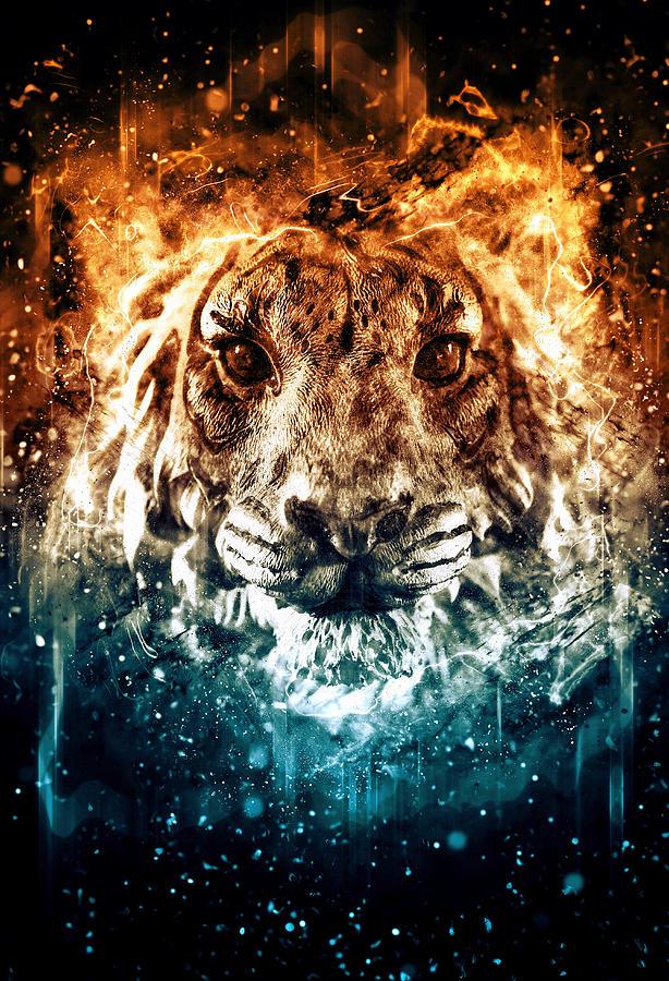 Tiger Photograph - The Spirit Tiger by Ray Van Gundy