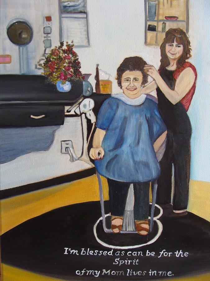 Hairstylist Mixed Media - The Spirit Within by Diane Duran