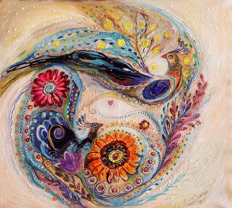 Judaica Store Painting - The Splash Of Life 7 by Elena Kotliarker