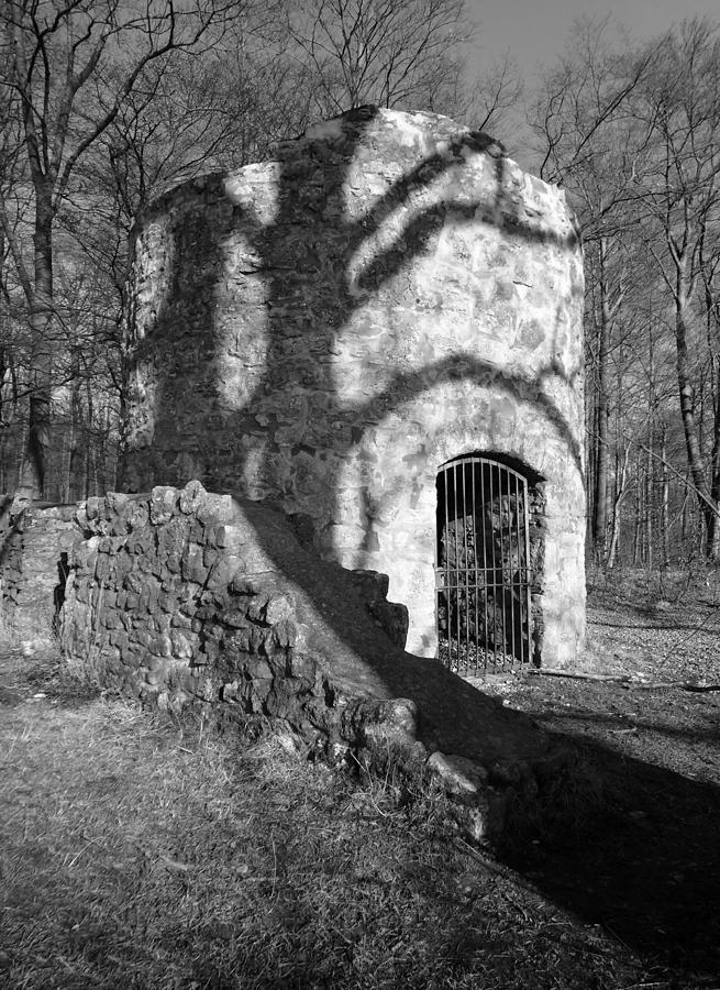 Trail Photograph - The Spooky Watchtower by Two Small Potatoes