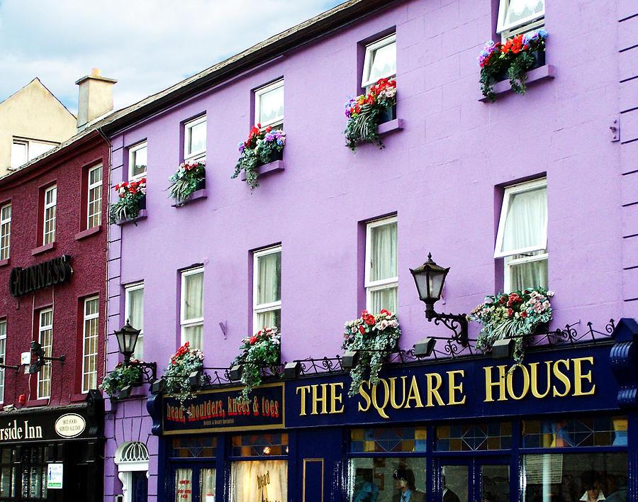 Irish Photograph - The Square House  Athlone Ireland by Teresa Mucha