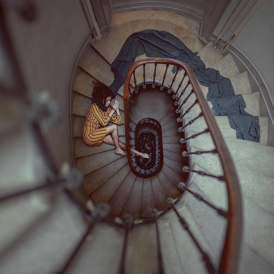 The Stair Romance Photograph by Anka Zhuravleva