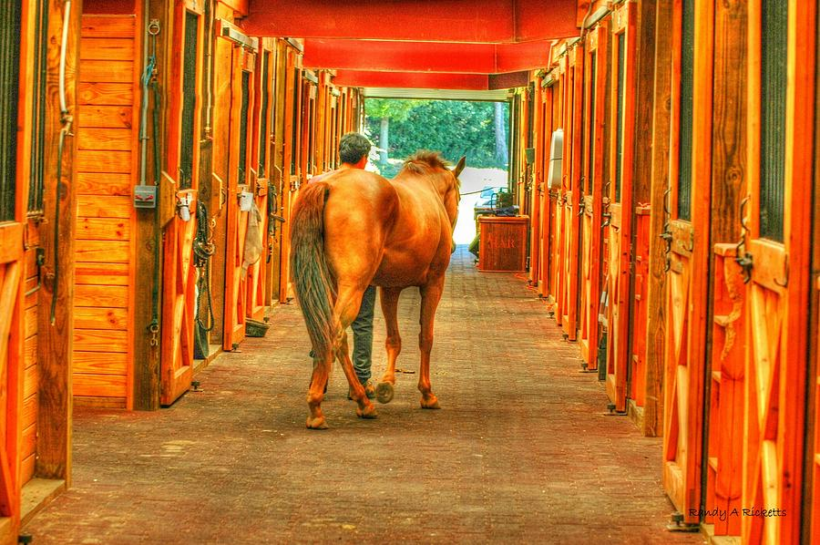 Barn Photograph - The Stalls by Randy Ricketts