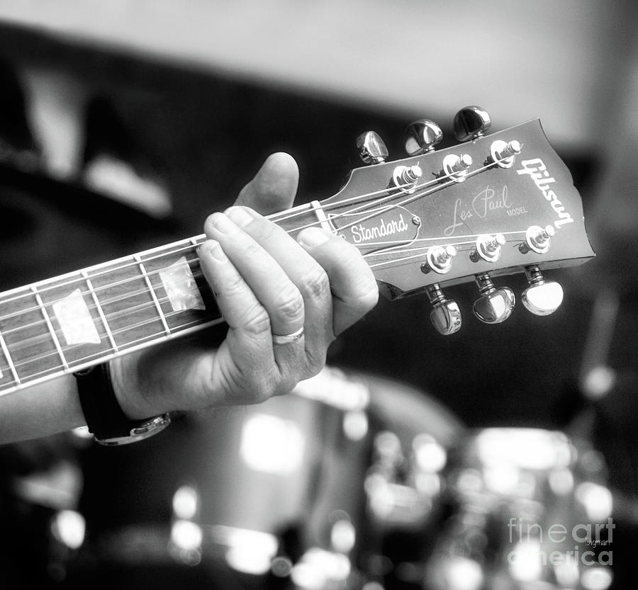 Guitar Photograph - The Standard  by Steven Digman