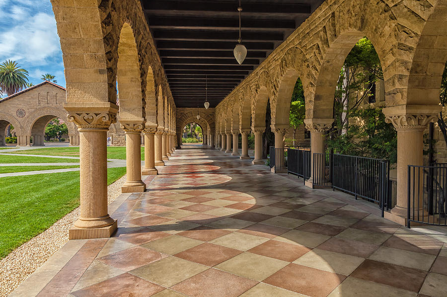 City Photograph - The Stanford Entrance by Jonathan Nguyen