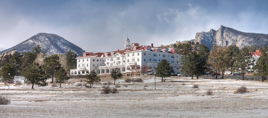 The Stanley Photograph - The Stanley Hotel by G Wigler
