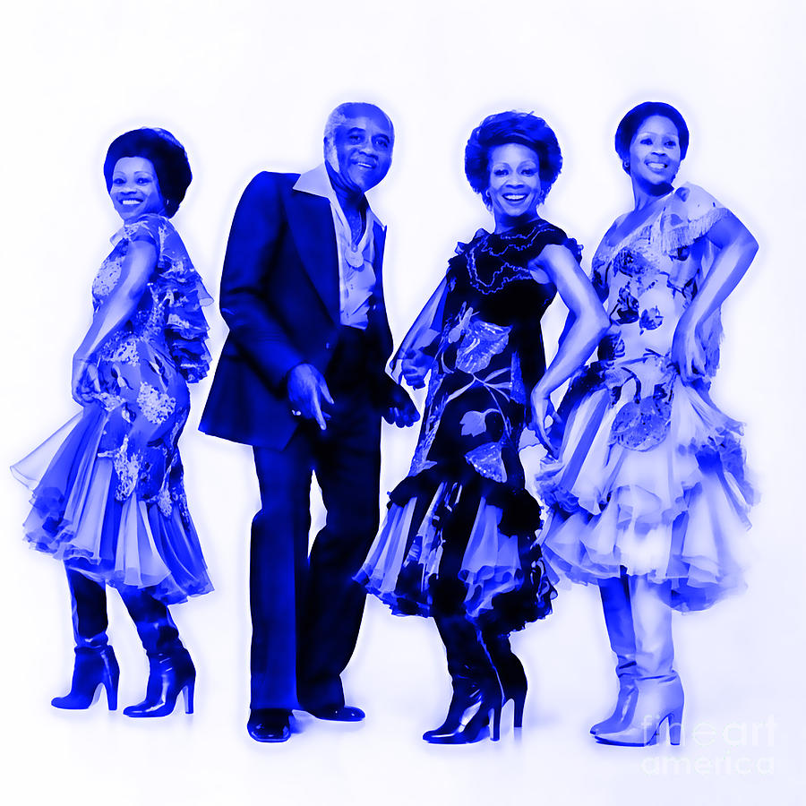 The Staple Singers Mixed Media - The Staple Singers Collection by Marvin Blaine